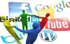 Trung bình một người có 5,54 tài khoản mạng xã hội