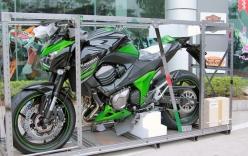 Naked-bike Kawasaki Z800 ABS 2015 về Việt Nam