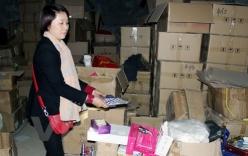 Bắt người nước ngoài mở xưởng mỹ phẩm giả tại Việt Nam
