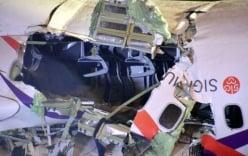 Gia đình 3 người thoát chết trên chiếc máy bay Đài Loan bị rơi