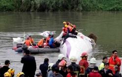Máy bay Đài loan rơi: Cộng đồng mạng bàng hoàng