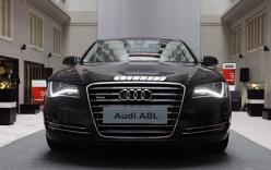 """""""Bóc"""" Audi A8L hạng sang gây tai nạn của Hồ Ngọc Hà"""