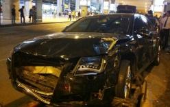 Xế sang Audi của Hồ Ngọc Hà tông hàng chục người bị thương?