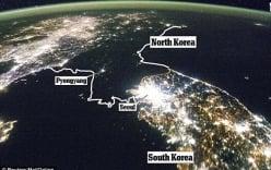 Triều Tiên phản pháo việc lãnh thổ tối om về đêm