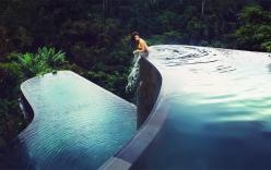 Ngỡ ngàng bể bơi đẹp nhất thế giới tuyệt đẹp giữa núi rừng Bali