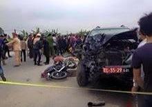 4 người trong một gia đình tử vong vì va chạm với ô tô