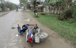 Một thanh niên nguy kịch do bị đánh nhầm sau vụ tai nạn giao thông