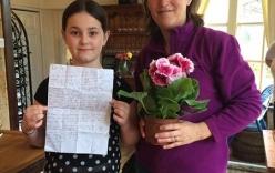 Bức thư của bé gái gửi bố đã mất khiến dân mạng rơi nước mắt