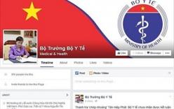 Bộ trưởng Bộ Y tế Nguyễn Thị Kim Tiến công khai địa chỉ Facebook