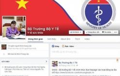 Bộ trưởng Tiến lên tiếng về việc công khai facebook