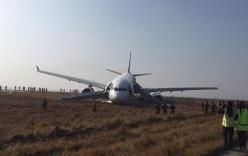 Máy bay Thổ Nhĩ Kỳ gặp tai nạn khi hạ cánh