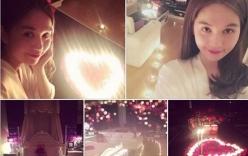 Ngọc Trinh tổ chức sinh nhật lãng mạn cho bạn trai bí mật