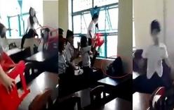 Đuổi học 1 tuần học sinh đánh hội đồng nữ sinh ở Trà Vinh