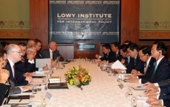 Thủ tướng nói về Biển Đông tại chuyến thăm Australia