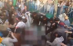 Đốt kinh Koran, cô gái bị đánh hội đồng, thiêu xác rồi ném xuống sông