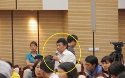 """""""Người bí ẩn"""" trong buổi họp báo chặt cây HN: Chẳng ai mời tôi cả"""