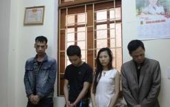 Trong nhà nghỉ, tóm gọn 2 thanh niên cùng 1 phụ nữ đang đóng gói ma túy