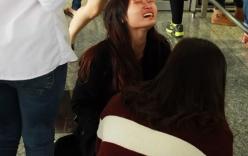 Clip: Thiếu nữ Hà thành khóc nức nở khi đón thần tượng từ Hàn Quốc