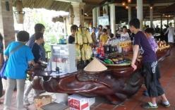 Chiếc bàn gỗ giáng hương giá hơn 4 tỉ ở Tiền Giang