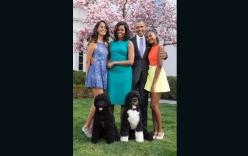 Nhà Trắng tiết lộ ảnh chân dung mới nhất của gia đình Tổng thống Obama