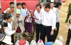 Thủ tướng Nguyễn Tấn Dũng: Không để đồng bào vùng lũ bị đói