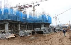 Hình ảnh tiến độ dự án Goldmark City tính đến tháng 4/2015