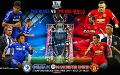 Top 5 cuộc đối đầu kinh điển giữa Chelsea và Man Utd