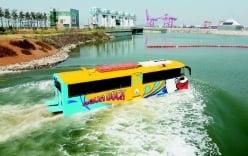 Cận cảnh tuyến xe buýt chạy dưới nước đầu tiên tại Hàn Quốc