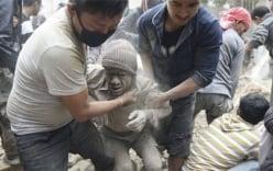 Động đất Nepal: Nhiều người nhảy từ ban công xuống đất