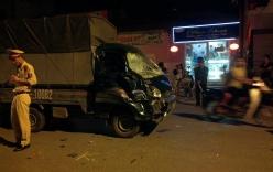 Đi xe bốc đầu, hai thanh niên đâm thẳng vào xe tải tử vong