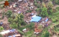 Động đất Nepal: Sững sờ trước cảnh hiện trường nhìn từ trên cao