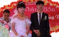 2 đám cưới vàng đeo trĩu cổ phố núi Hà Tĩnh là anh em ruột
