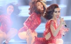 Hoàng Thùy Linh bất ngờ xuất hiện trên sân khấu The Remix sau sự cố
