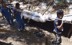 Rùng mình trước mộ chôn tập thể 26 người tại Thái Lan