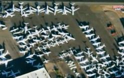 Sân bay quá tải chuyên cơ của các đại gia trước trận quyền anh thế kỷ