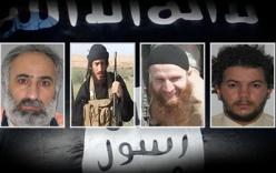 4 thủ lĩnh đầu sỏ IS được Mỹ treo thưởng 434 tỉ đồng cho người cung cấp thông tin