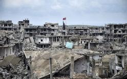 """Video: Sững sờ khi IS để lại một Kobane chìm trong """"ngày tận thế"""""""