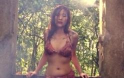 Thiếu nữ Việt mặc bikini từ thịt bò sống gây xôn xao