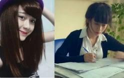 Clip cô giáo xinh đẹp bình thản khi bị học sinh trêu gây sốt