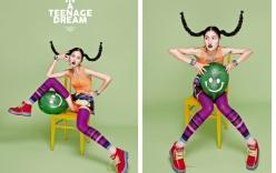 Chà Mi Next Top Model biến hóa kỳ lạ với váy áo sặc sỡ