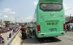 Xe khách đâm chết người ở Trà Vinh: Tạm giữ hình sự tài xế gây tai nạn