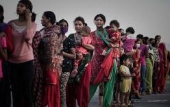 Sau động đất, phụ nữ và trẻ em Nepal trở thành
