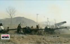 Video: Triều Tiên bắn 130 quả đạn pháo gần biên giới biển với Hàn Quốc