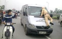 Khởi tố đối tượng liều lĩnh tông thẳng xe vào CSGT hòng tẩu thoát
