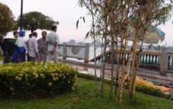 Đang đi bộ bất ngờ người phụ nữ lao thân xuống sông tự tử