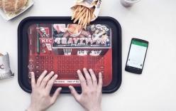 KFC giới thiệu bàn phím độc đáo dành cho người thích vừa ăn vừa chat