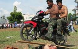 Màn biểu diễn võ thuật đầy uy dũng của Bộ đội biên phòng