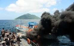 Trung Quốc lên tiếng vụ Indonesia đánh chìm tàu cá