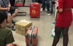 Khách tố vali bị phá, mất cả kg hành lý khi bay từ Bangkok về VN