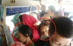 Vạch trần quái chiêu dàn cảnh móc túi sinh viên trên xe bus